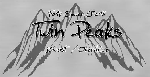 [Effet] Twin Peaks - Booster/Overdrive à lampes BT TwinPeaksLogo